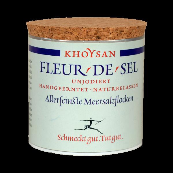 Khoysan Meersalz Fleur de Sel-Kristalle 200 g Dose