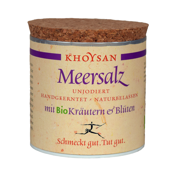 Khoysan Meersalz BioKräutern & Blüten 200 g Dose