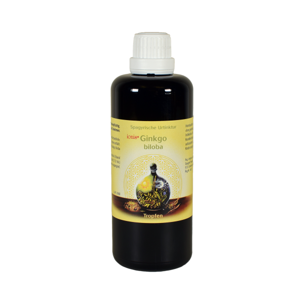 ionis® Ginkgo biloba spagyrische Urtinktur 100 ml
