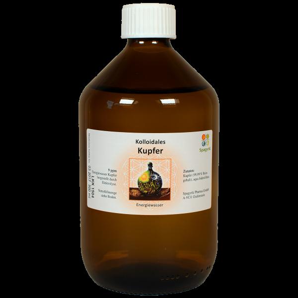 Kolloidales Kupfer 9 ppm 500 ml