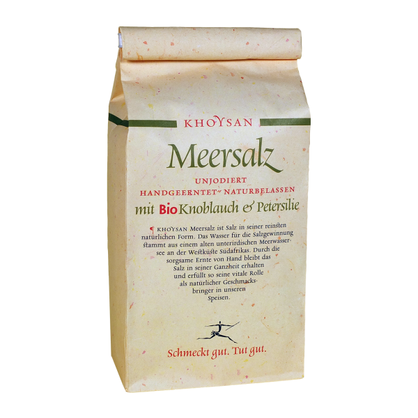 Khoysan Meesalz BioKnoblauch & Petersilie 1kg