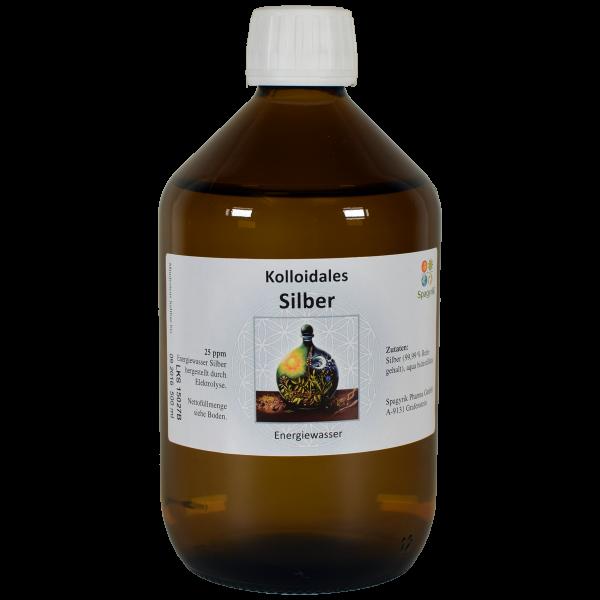 Kolloidales Silber 25 ppm 1000 ml