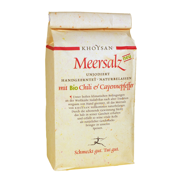 Khoysan Meersalz BioChili & Cayenne 1kg