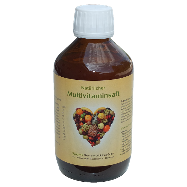 Multivitaminsaft mit Zink