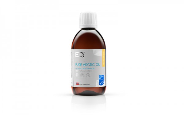 EQ Pure Arctic Omega-3 Öl 300ml Zitrone