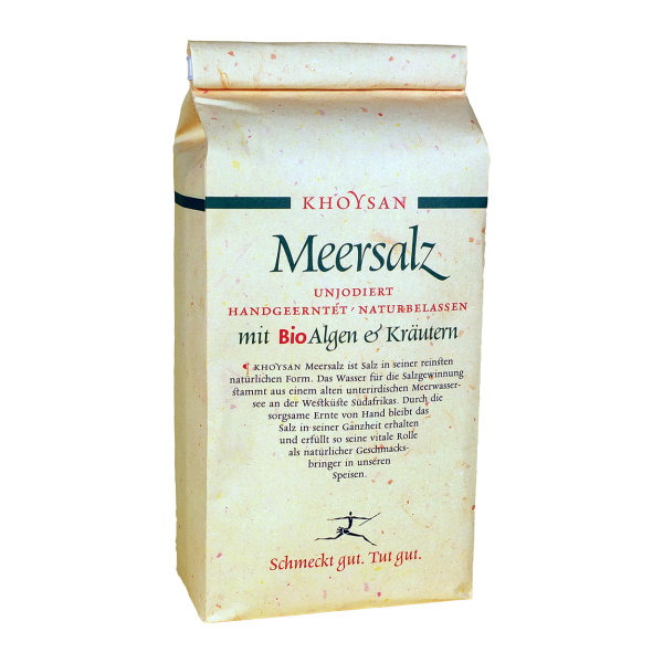 Khoysan Meersalz BioAlgen & Kräuter 1 kg