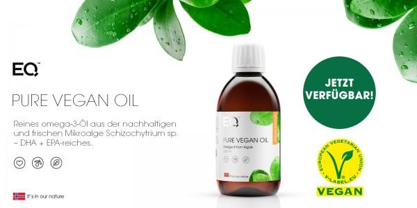 EQ Pure Vegan Omega-3 Öl 300ml